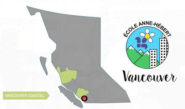 Départ de la Caravane Santé à l'école Anne Hébert à Vancouver