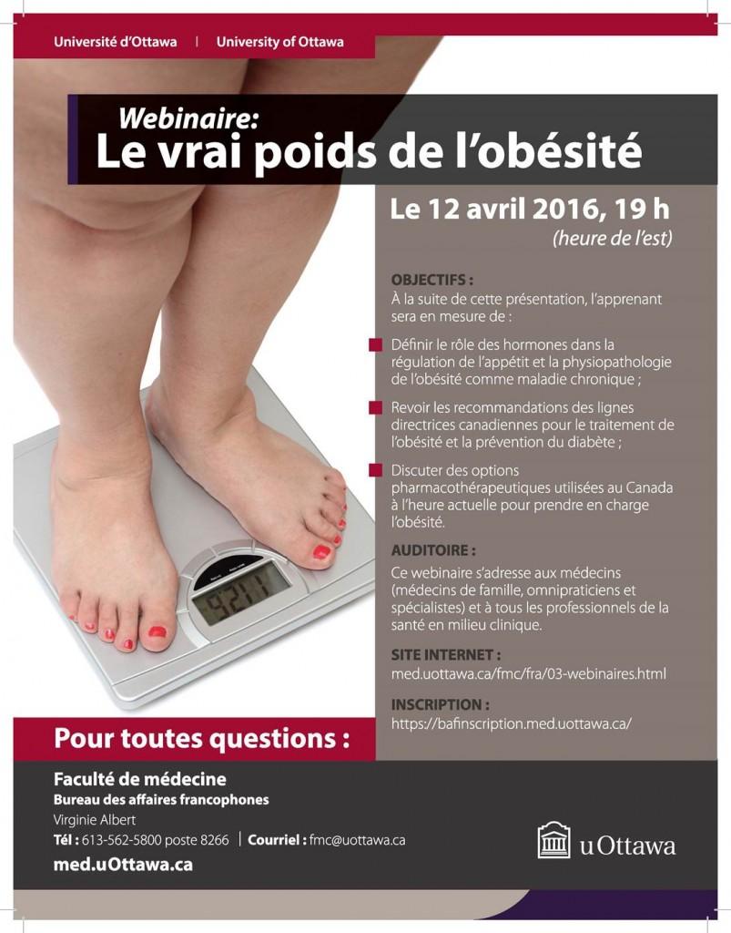 Webinaire Obesite