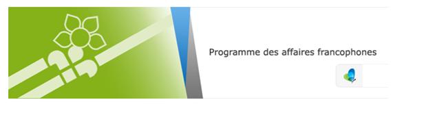 programme affaires franco