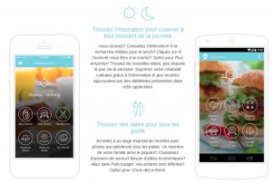 app-recette nutrition