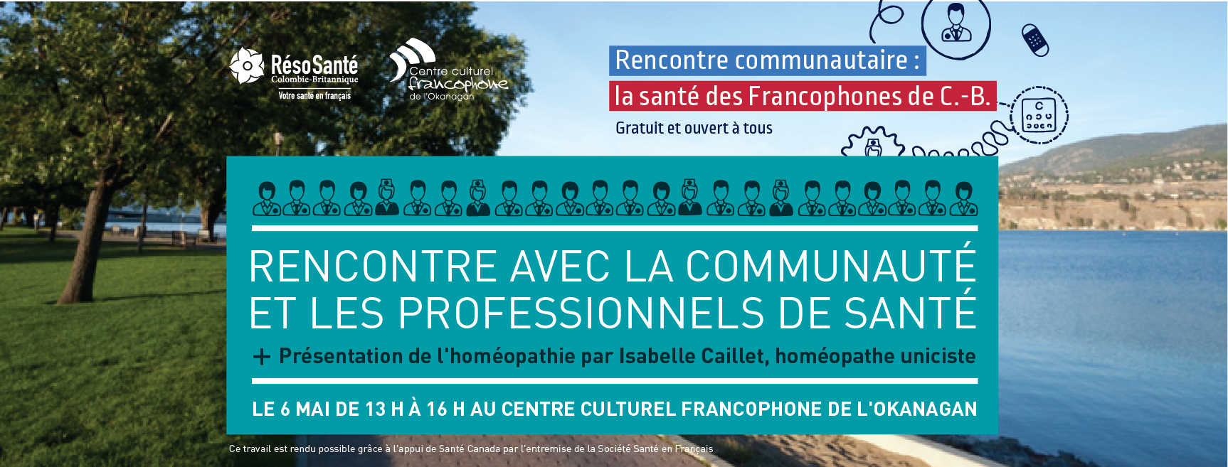 rs-kelowna-banniere rencontre communautaire santé des francophones