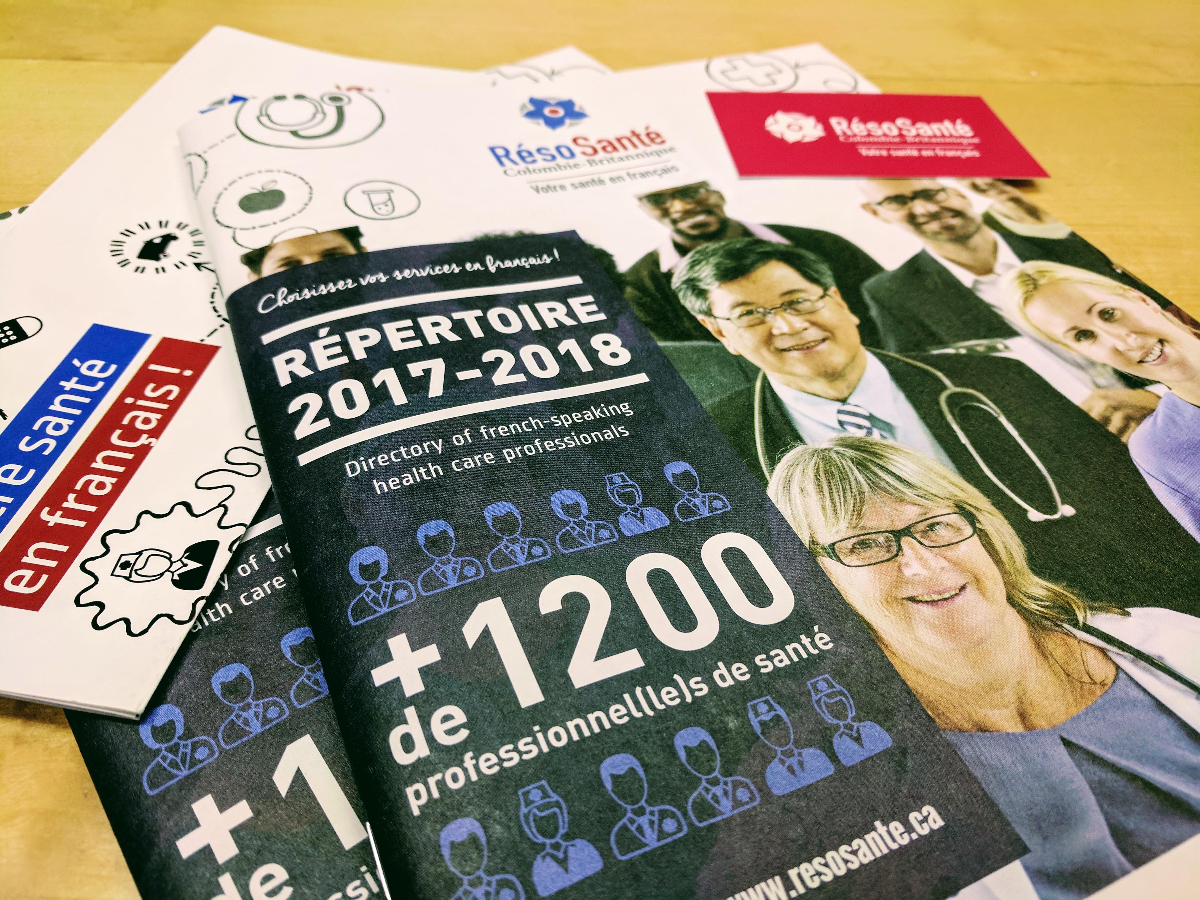 La couverture du Répertoire 2017-2018